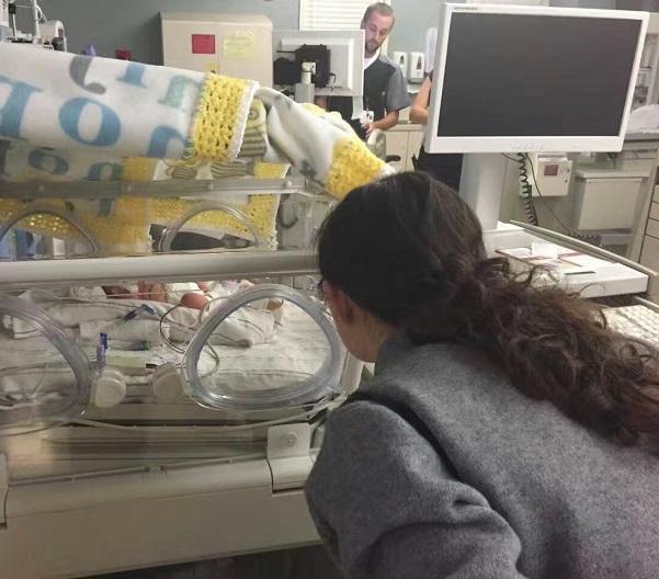 又一美中桥试管猴宝宝在加州出生啦!
