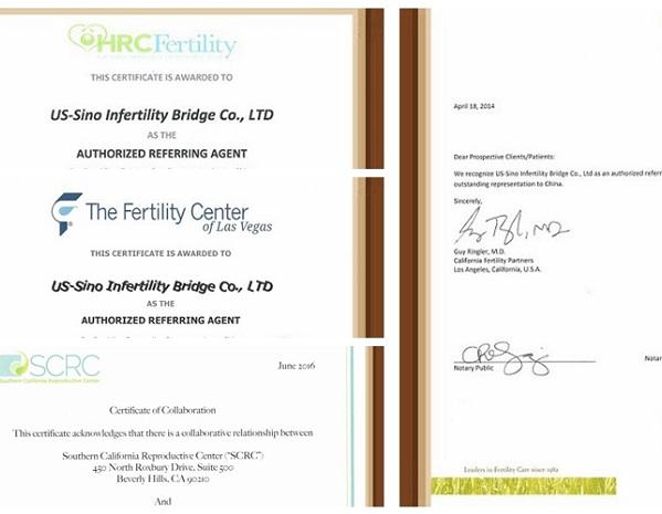 美中桥获多家生殖中心官方授权