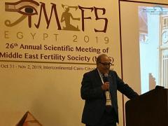 CFG全球医疗总监Botros Rizk出席第26届MEFS中东生殖协会