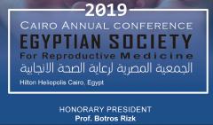 Botros Rizk教授以荣誉主席身份出席2019年埃及生殖医学年会