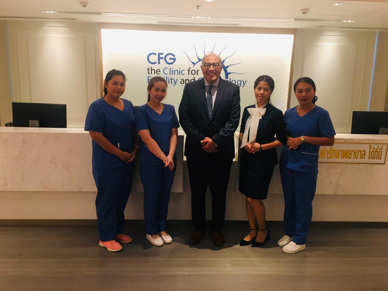 美国试管婴儿教父Botros Rizk,助阵CFG曼谷生殖与妇科医疗中心